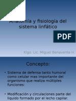 Anatomía y Fisiología Dema Linfático Para Estudio Ely