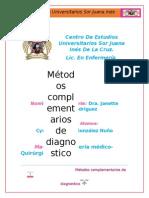 4.1.- Métodos Complementarios de Diagnostico