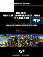 Dialogos Para El Estudio de America Latina en El Siglo XXI