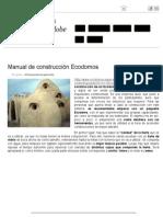 Manual de Construcción Ecodomos