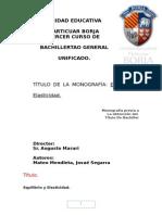 Monografia Equilibrio y Elasticidad