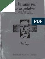 Duque Felix - La Humana Piel De La Palabra.pdf