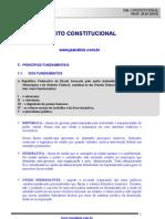 Direito Constitucional art 1º ao 4º