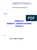 Direito Constitucional vol 1º