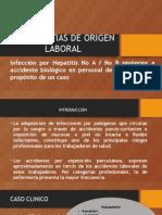 Hepatopatias de Origen Laboral