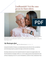 Self-Absorbed Millennials Not the Ones Who Are Caregivers for Their Elders.