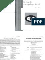 Revista de Antropologia Social, Vol. 18, 2009, Monografico. Pluriparentalidades y Parentescos Colectivos