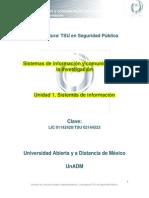 Unidad 1. Sistemas de Información