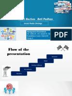 """Social Media Strategy for """"Beti Bachao and Beti Padaho"""""""