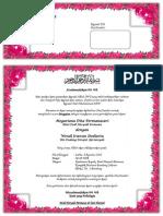 Undangan Pengajian Pernikahan