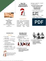 Rehabilitasi Psikososial Leaflet