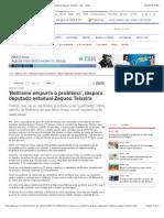 'Beltrame Empurra o Problema', Dispara Deputado Estadual Zaqueu Teixeira - Rio - O Dia