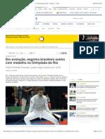 Em Evolução, Esgrima Brasileira Sonha Com Medalha Na Olimpíada Do Rio - Esporte - O Dia