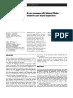 Grebe Syndrome With Bilateral Fibular