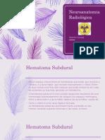 Neuroanatomia Radiológica - Patologias