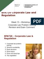 BFA726 - Workshop 13 2015