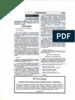 D.S. Nº 016-2013-MINAGRI