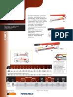 Power Team Single Speed Hand Pumps - Catalog