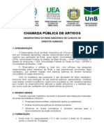 Edital Rede Amazônica de Clínicas