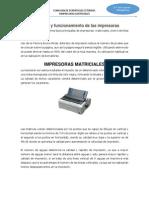 Impresoras Matriciales y Margarita