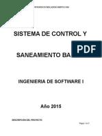 Plan - Sistema de Control y Saneamiento Basico