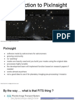 Session 1 - PixInsight Basics