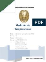 Medición de Temperaturas