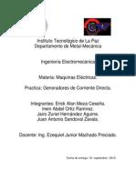 Reporte de Practica-generadores de CD.