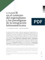 Unasur e Integración Latinoamericana