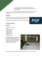 Primer Informe -Presion Hidrostatica