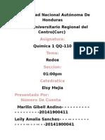 Quimica Qq-11o, Redox.