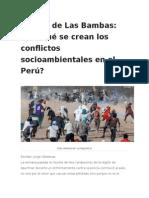 El Caso de Las BambasPorque Se Crean Los Conflictos