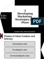 Delivering marketing strategies
