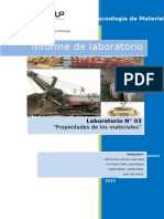 Tecnología de Materiales Informe 3