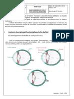 Cours d'anatomie de l'oeil