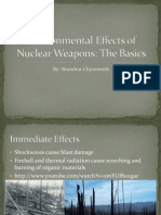 Environmental Effects of Nuclear War