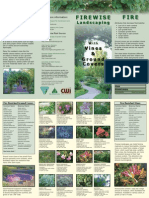 Firewise Landscaping With Vines & Groundcovers