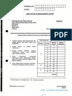 Kertas 2 Pep Percubaan SPM Johor 2010 soalan