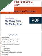 Ppt Image Copression Techniques
