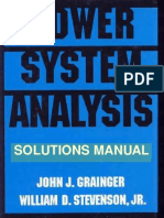Power System Analysis [Solutions Manual] [eBook]