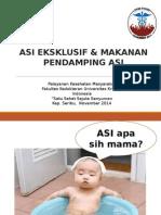 ASI Eksklusif Dan Makanan Pendamping ASI (CIP) Edit Final