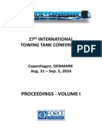 27th International Towing Tank Coference ITTC 2014