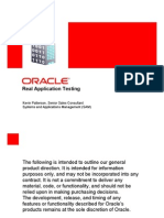 Oracle Real Applications Testing Overview by Kevin Patterson (Oracle)