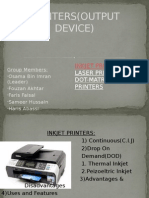 printers output device