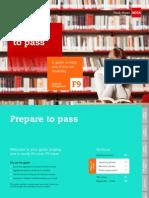 F9 Interactive Self Study Guide