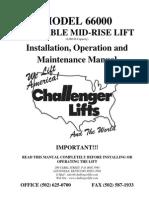 Short Rise challenger lift