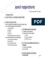 Cours Histologie Appareil Respiratoire