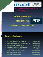 Adaptive Immune  response to Extra Cellular Microbe (Presentation)