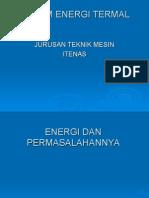 1. Energi & Permasalahannya