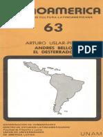 Uslar_Pietri Andres Bello y El Desterrado